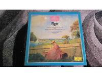The great composers Elgar vintage vinyl lp record