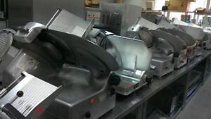 Meat slicers, large selection of used slicers     90 Day warranty
