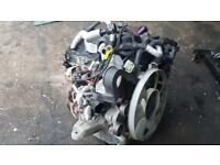 Engine for Ford Transit 2014, 2.2l rear wheel drive, has low mileage.