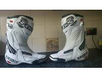 TCX R-S2 motorcycle boots. Size 9