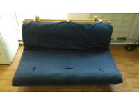 """GREAT CONDITION"" (£70) 2 Futon's + Frame- Vuodesohva IKEA Bromsta, hard tyyppinen /Whole set. ."