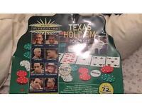 Complete set of Texas Hold'em poker chips
