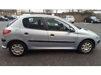 2004(RJ04ZTV)Peugeot 206. 1.4L Warranted mileage. 2 Owners 9 stamp Service History