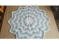 Baby blankets crocheted with love