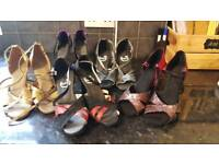 Size 5 latin dance shoes