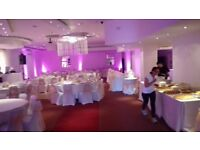 Wedding hall hire, mehndi hall hire, birthday parties, conferences, wedding stages, mehndi stages