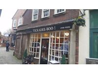 175k Retail Market Square Shop for sale, 2 Storey, multiple uses, with Cellar & Courtyard. LOCATION!