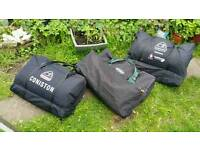 3 Nearly New Huge Proper Camping Tents