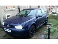 Volkswagen golf se 52 plate 1.6.16v.petrol mot August 2017 car startanddrive spare and repair