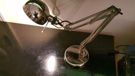 Ikea table lamp chrome
