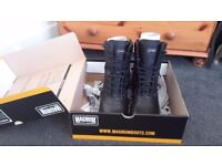 Magnum Panther Boots size 9 Side Zips