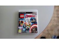 PS3 lego marvel avengers. Used for about ten mins. As new