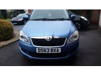 Skoda Fabia for sale 63 plate, less than 9000 miles
