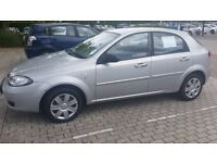 CAR FOR SALE. CHEVROLET LACETTI, 2006 MODEL GOOD RUNNER WITH NEW BATTERY. MOT 22ND 0CT, 2016