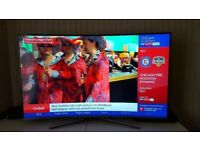 "Samsung Smart 4k ultraHD 55"" curved led tv"