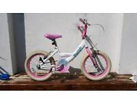 "Girls Bike for age 5 - 7 16"" Tyre"