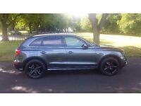 Audi Q5 2.0 TDI S Line Special Edition S Tronic Quattro 5dr 2010,LEATHER,XENON day time lights