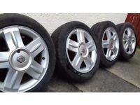 Alloy wheels off 05 Renault clio