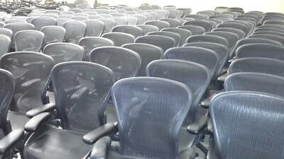Herman Miller Aeron Office Chair - Graphite Size B