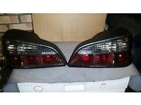 Peugeot 106 gti rear lights