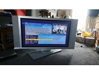 """Hitachi 42"""" Plasma TV - Free for collection from S11. Working and with remote/leads."""
