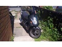 Daelim S1 125cc Moped
