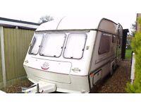 ABI Award Nightstar caravan, awning and extras