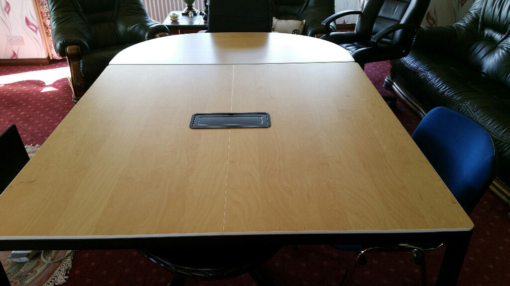 Ikea Meeting Table Square Amp Half Moon Section Good