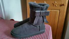Grey genuine ugg boots