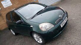 Toyota yaris (diesel £30 road tax)
