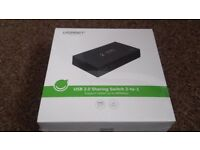 Brand New - UGreen USB 2.0 Sharing Switch 2-to-1