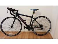 Women's road bike carrera zelos from halfords nearly new