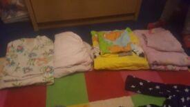 Girl toddler bedding