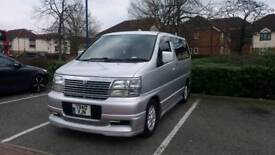 Nissan Elgrand E50 1999 UK 2011 call for more info no 07446856423 no Time waster please