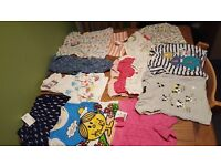 Large bundle of baby girl clothes 12-18 months