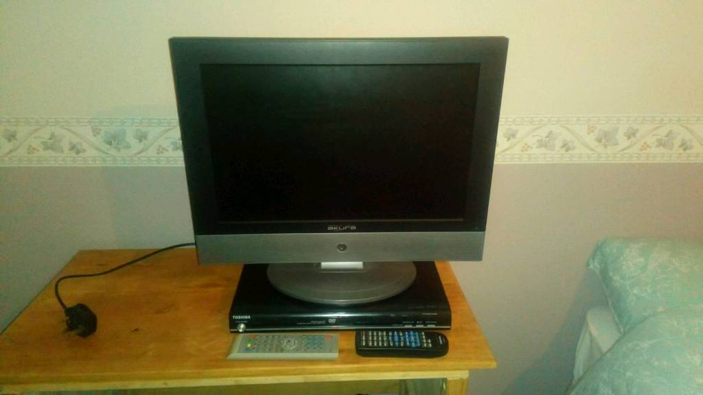19 inch TV and dvd