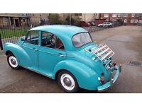 1959 MORRIS MINOR 4 DOOR TIFFANY BLUE - READY TO DRIVE AWAY!