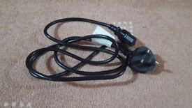 UK 3 Pin Power Cable 1.8m