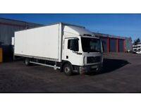 Man lorry 12.220 no vat on truck
