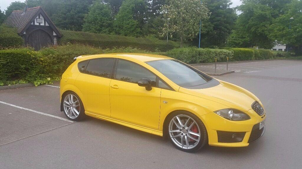 Rare Seat Leon Cupra R 2010 20l Turbo 300 Hp Yellow In