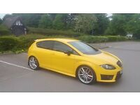 Rare Seat Leon Cupra R, 2010, 2.0l Turbo, 300+ HP - Yellow
