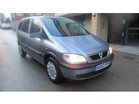 2004 VAUXHALL ZAFIRA 1.6, 7 SEATER, NEW CLUTCH, RECENT CAMBELT CHANGE