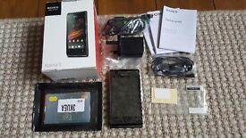 Sony Ericsson Xperia E mobile phone