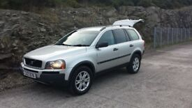 Volvo XC90 7 Seater (Long MOT 4 Wheel Drive) Jeep
