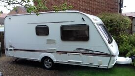 Swift, 2 berth L'weight touring caravan 2006. optional extras. E Yorkshire. P X WHY.