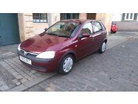 Vauxhall corsa 1.2 petrol.5 doors.45k.mot 1 year