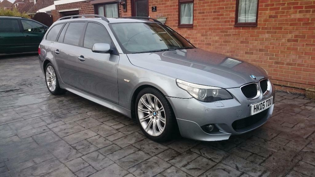 2005 BMW E61 530D SPORT TOURING AUTO GREY, LOW MILES, PANORAMIC ROOF ...