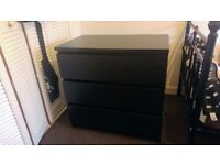 Drawers / Chest of 3 drawers