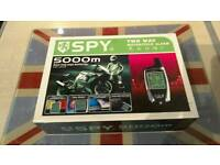 SPY 5000M LCD REMOTE CONTROLLER TWO WAY MOTORCYCLE ALARM