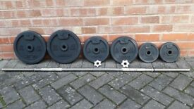 DOMYO CAST IRON WEIGHTS SET